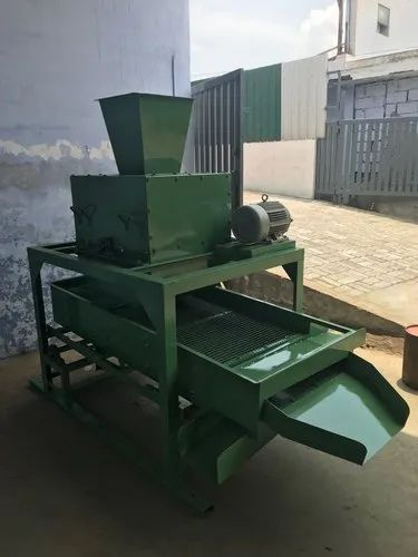 Beater Cum Siever For Coco-Husk Chips Cutting Machine (With Motor)