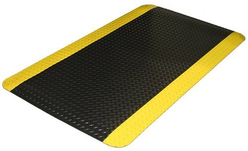 Chequered Black Anti Fatigue Mats/ Ergonomics Floor Mats, Thickness: 23mm,  Rs 3500 /piece | ID: 7574034655