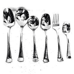 Trident Hammered Cutlery