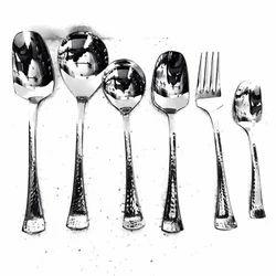 Trident Hammered Cutlery