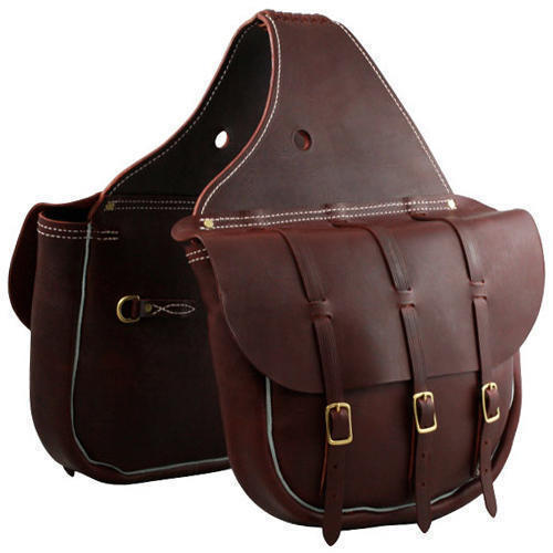 32543dec4bd1 Brown Mens Leather Saddle Bag Rs 8000 Piece Dkj Group Id