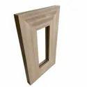 Rectangular WPC Window Frame