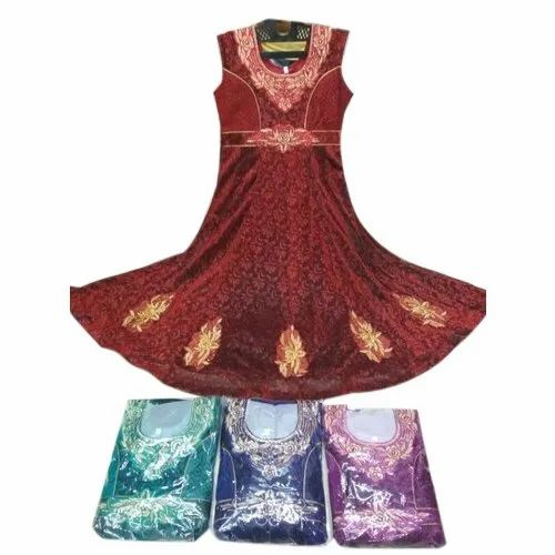 Kids Ethnic Gown, Packaging Type: Packet, Size: Large