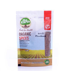 Go Earth Organic Organic Alsi Seeds, Pack Size: 5kg And 25kg, Packaging Type: Hdpe Bag