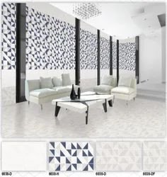 6038 (D, H, DF) Hexa Ceramic Digital Wall Tiles