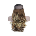 Brown Mix Color 30 Inch Long & Soft Curly Hair Extension