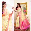 Yelllow Color Art Pattu Silk Saree