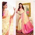 Yelllow Color Art Pattu Silk Saree