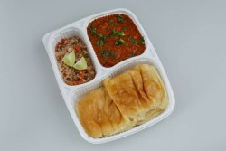 3 Compartment Disposable Meal Tray With Lid