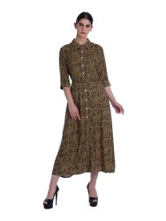 Ladies Shirtwaist Dress