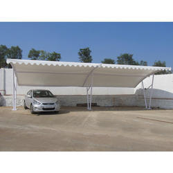 Tensile Membrane Structures For Car Shades
