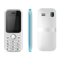 1.8 Inch White Blue Feature Phone