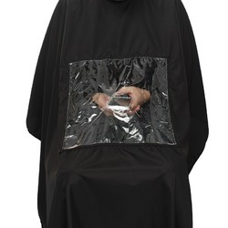 Black Plain Reusable Cutting Cape