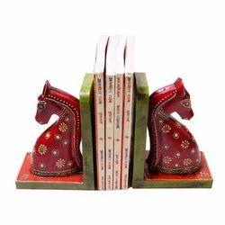 Horse Design Bookend Art