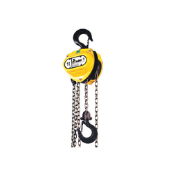 Indef Triple Spur Gear Chain Pulley Mechanical Hoist