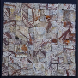 Wall Cladding Stone Mosaic, Size: 300 Mm X300 Mm