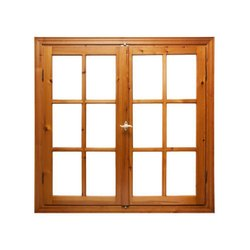 Designer Wooden Window, Rectangle, Size/Dimension: 4*3 Feet