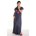 Large Cotton Ladies Embroidery Nighty