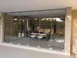 Glass Hinged Windorz Frameless Doors System