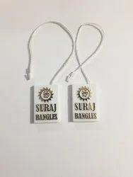 White Jewelry Tags