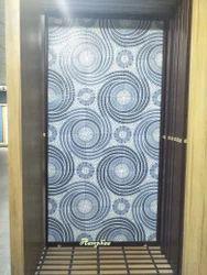 400X400 Parking Tiles Round Design