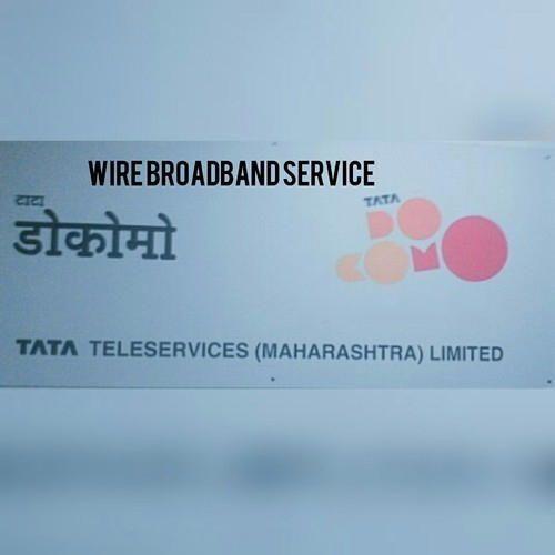 Airtel Broadband Service - Tata Docomo Broadband Service