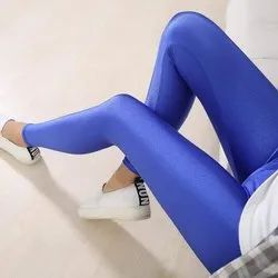 Sumshy Straight Fit Satin Lycra Legging