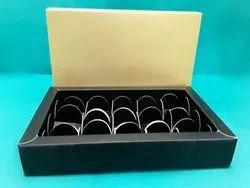 Design Golden Chocolate Packing Box