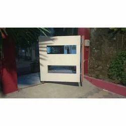 Wood Automatic Bi Fold Gate