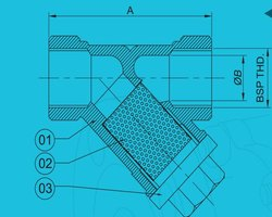 Investment Casting For Y Strainer