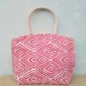 Jute Hand Handled Ladies Designer Hand Bag