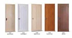 Slide & Fold Glossy PVC Door, For Home, Interior
