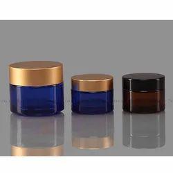 Cosmetic Cream Glass Jar
