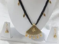 Party Wear Necklace With Earrings Set