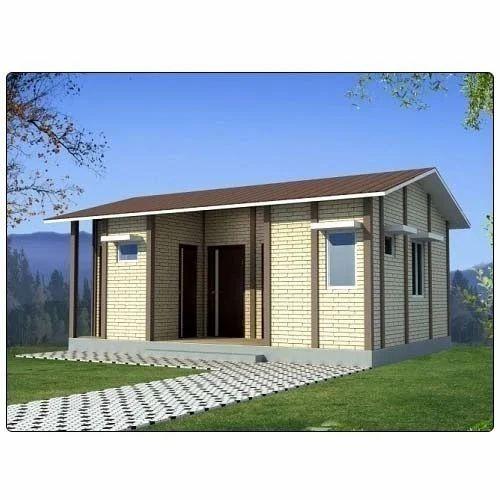 PVC Yellow Prefabricated Guest House, Mannat Interiors
