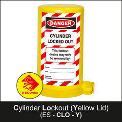 Cylinder Yellow Lockout