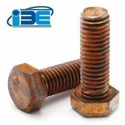 Silicon bronze bolts