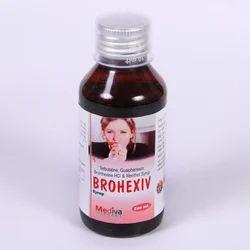 Bromhexine Hcl Terbutaline Guaiphenesine Menthol Syrup