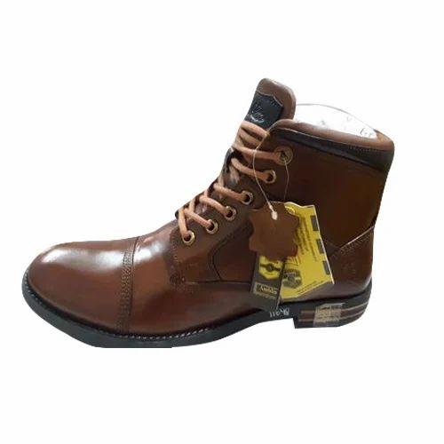 Amblin Brown Mens Designer Ankle