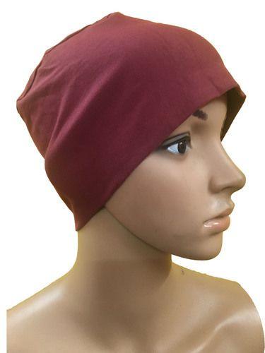 GIRRIJA Maroon chemo beanies cancer caps women summer chemo caps sleep  turban for women caps 632a56792c24