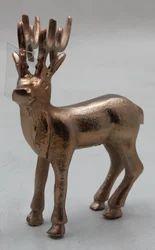 Decorative Aluminum Reindeer Statue