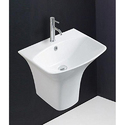 Hindware Berlin Integrated Pedestal Wash Basins