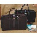 K Designs Leather Ladies Traveling Bag
