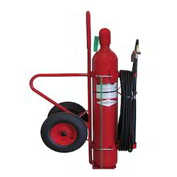 Squeeze Grip/Wheel Type CO2 Fire Extinguisher