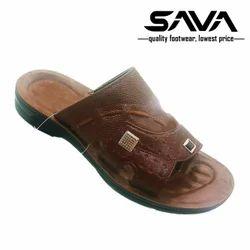 Men Synthetic Leather Slip-On Footwear, Size : 6-10