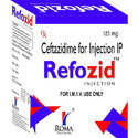 Ceftazidime 125 mg Injections