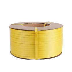 Yellow Plastic Packing Strap