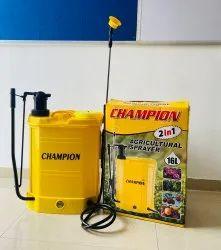 Double Pump 2 In 1 Knapsack Battery Sprayer, 3-5 Kg