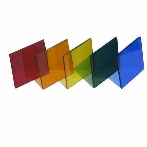 Reflective Tinted Glass, Thickness: 4 - 5 Mm, Size: 6 X 4 And 6 X 8 Feet