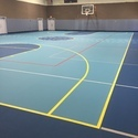 Basketball Vinyl Floor